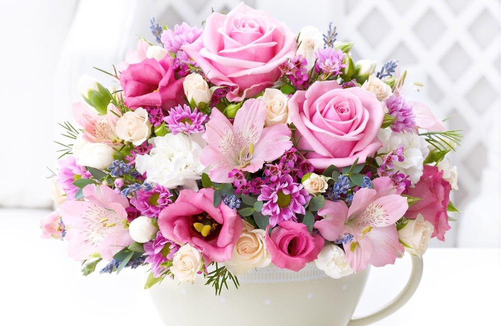 Классная картинка букет цветы на день рождения